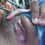 Spreading tight filipina vagina