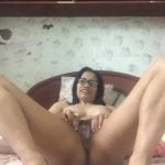 Mature Woman Showing hairy filipina pussy