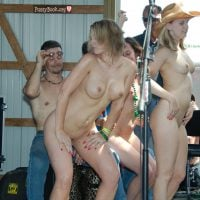 Nude Country Girls at Cowboy Contest