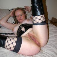 Old Slut Shaved Cunt Sexy Lingerie