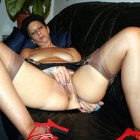 Sexy Lingerie Mother Masturbating Nude