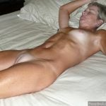 Naked Real Granny in Bed