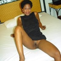 Brown Afro American Wife Bottomless Pussy