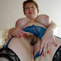 50 yo Granny Flashing Hairy Pussy Big Boobs