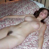 Beautiful Body Hairy Girlfriend Nasty Face