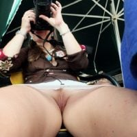 Woman Photographer Pussy Upskirt