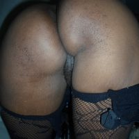 african-black-arse-bent-over-pussy-peek