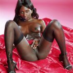 African Ebony Beauty Naked Pussy Tits
