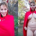 Devil Wife Unveils Naked Body for Halloween