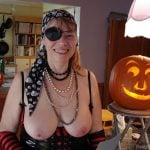 Mature Pirate Lady Breasts Out