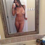Naked Girlfriend Selfie Posing Tanlines