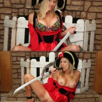 pirate-girl-costume-sucking-sword-pussy-tits