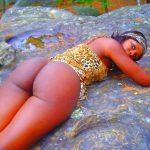 Dope African Ass Brown Big Buttocks
