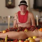 Fruit Feast with Nude Girl
