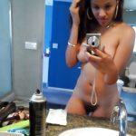Latino American Teen Girl Nude Selfie