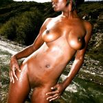 Nude African Princess Outdoors