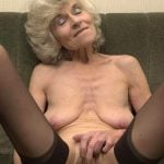 Very Old Naked Granny Masturbating