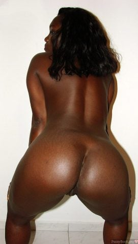 Bent Over Black Woman Rear End