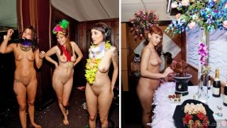 Naked Girls Party for New Years Eve