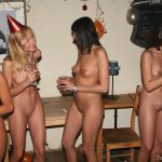 New Year's Eve Party Naked Girls
