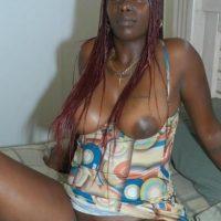 Kenyan Woman Black Pussy & Brown Tits