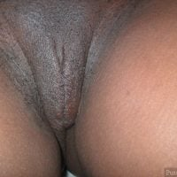 Shaved Black Vulva from Tanzania