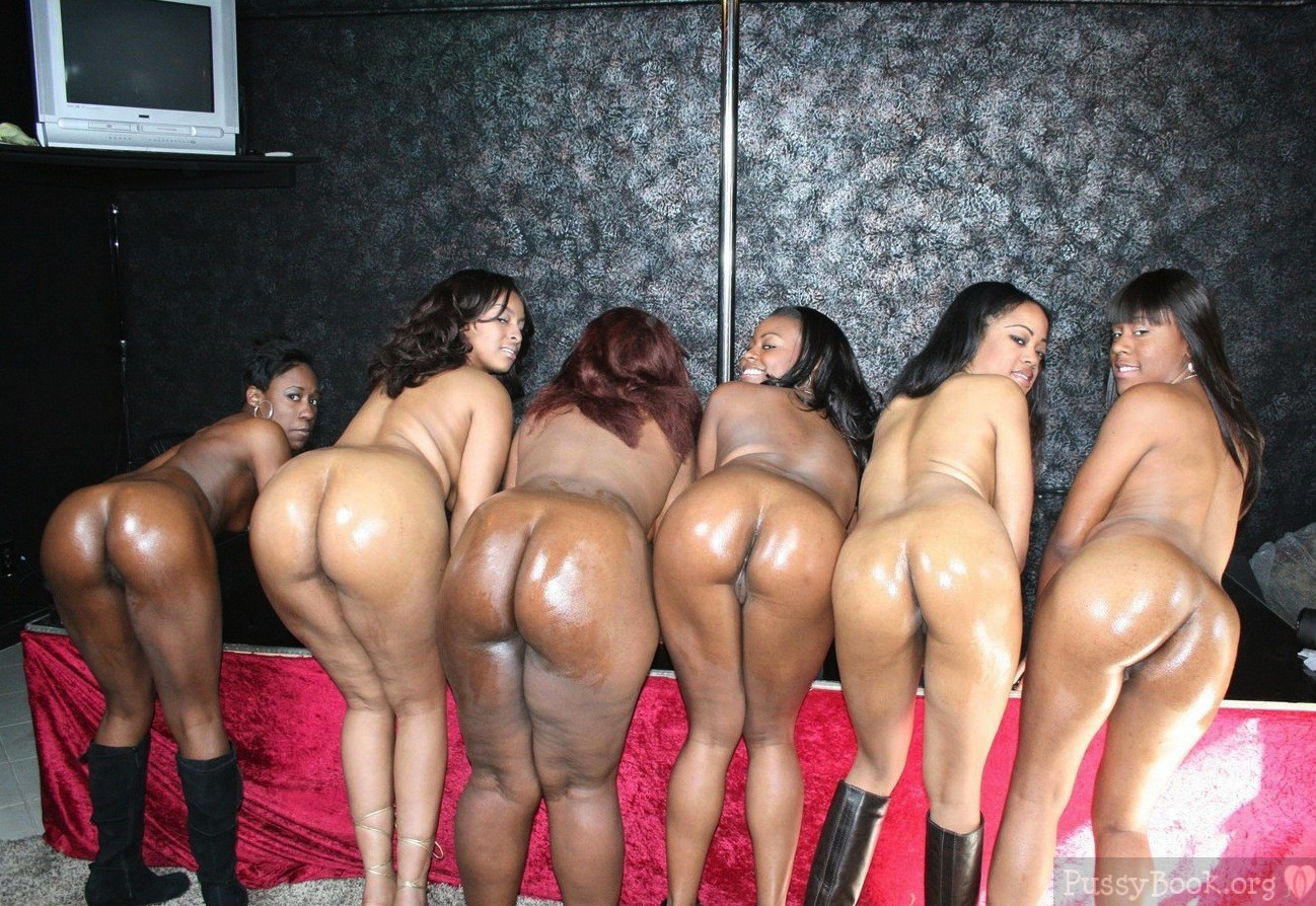 groups girls bent over