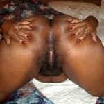 Spreading Mature Ethiopian Naked Ass