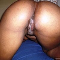 Aroused Black Pussy Bottom Up