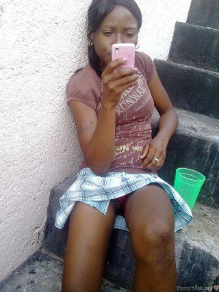 Nairobi Student Pussy Upskirt