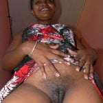 Indian Aunt flashing Beautiful Black Pussy