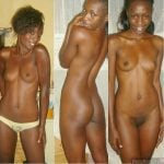 Ugandan Nude Girl front and back