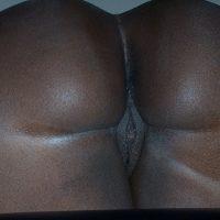 Dark Naked Bottom Pussy