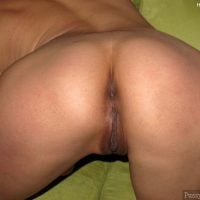 Flat-Butt-Bent-Over-Shaved-Cunt-HD