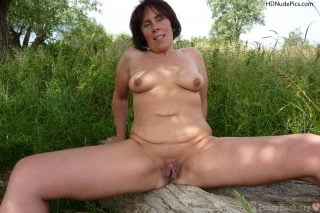 Naked-Mature-Naturist-Female-Outdoors-HD