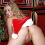 Beautiful Blonde Babe Ass Cunt Christmas Time