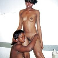 Black and Mulatto Naked Lesbian Babes
