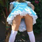 Cool Dress Pussy Upskirt Outdoor
