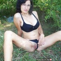 Girl Flashing Pussy in the Nature