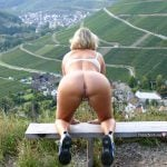 Hot Granny Naked Ass Awesome Landscape Outdoors