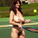 Naked Woman Tennis Player Hairy Pussy