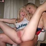 Naughty Teens Playing Bottomless Pussy