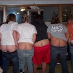 Six Girls Ass Cracks Flashing