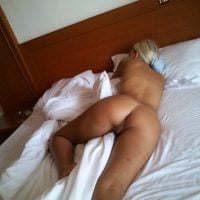 Sleeping Blonde Naked Beauty Face Down Bottom