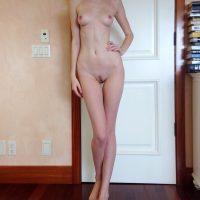 Tall Anorexic Nude Teen Girl