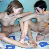Teen Girlfriends Naked in Bed