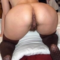 Wide Wife Bottom Hairy Pussy