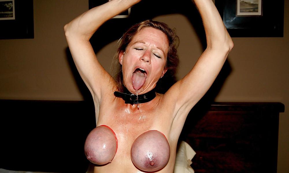 Жесткое порно подвешивание за груди фото 216-624