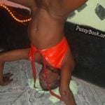 Black African Woman Naked Aerobic