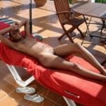 Black Chick Nude on Vacation